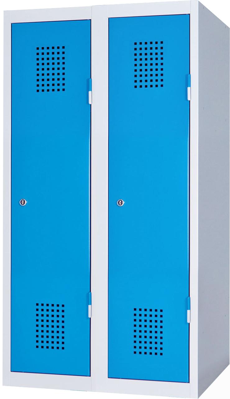 Dvoudveřová skříň na soklu 120 x 60 x 50 cm