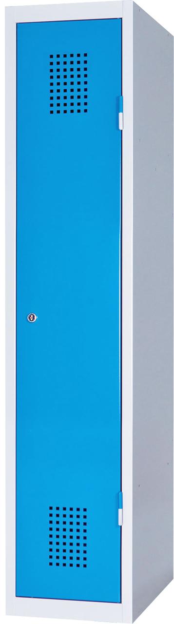Jednodveřová skříň na soklu 150 x 30 x 50 cm