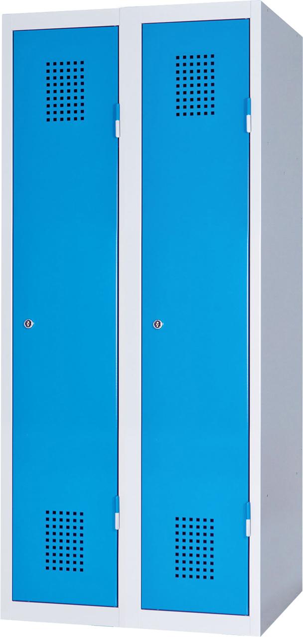 Dvoudveřová skříň na soklu 150 x 80 x 50 cm