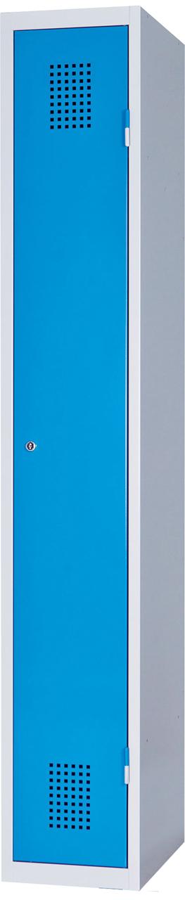 Jednodveřová skříň na soklu 185 x 30 x 50 cm