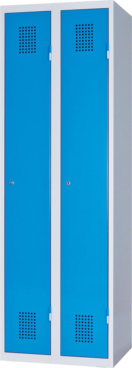 Dvoudveřová skříň na soklu 185 x 50 x 50 cm